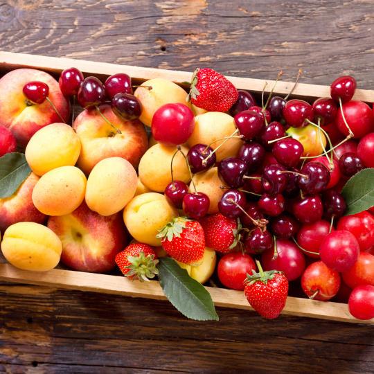 raccolto di frutta